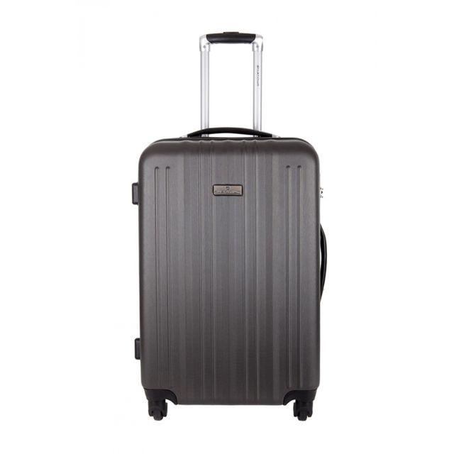 platinium valise sicuani gris taille s 6 247088 valises trolleys pas cher achat. Black Bedroom Furniture Sets. Home Design Ideas