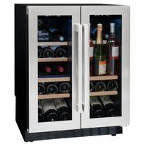 Avintage - Cave à vin encastrable sous plan - 42 bouteilles - Aci-avi603E