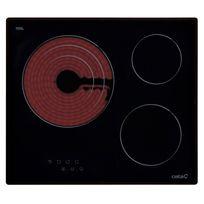 Cata - Table de cuisson vitrocéramique Tt 603 60cm noire