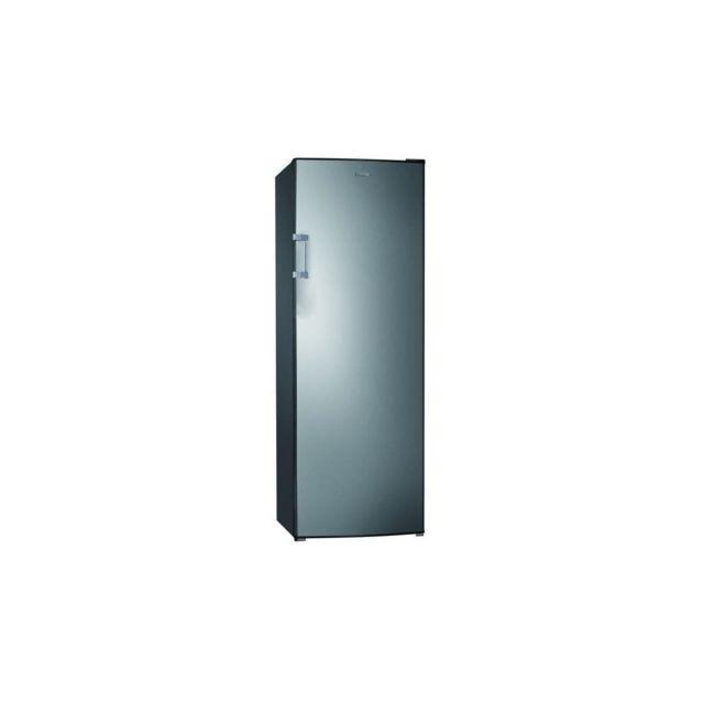 HAIER Hul-676s - Refrigerateur 1 Porte - 335l - Froid Statique - A+ - L 60cm X H 170cm - Silver