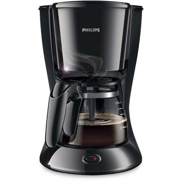 Philips Cafetière Filtre 6 Tasses Noire Hd7432-20