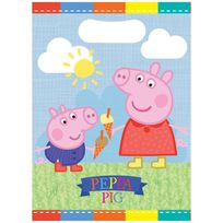 Bbs - Pochettes à cadeaux Peppa pig x6