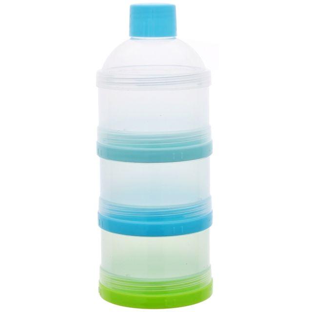 Promobo Boite Doseuse Biberon Bébé Lait en Poudre Empilable Bleu