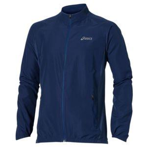 Asics - Woven Jacket Bleu Fonce Veste running Multicolore