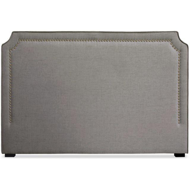 menzzo t te de lit milana 180cm tissu taupe pas cher achat vente t tes de lit rueducommerce. Black Bedroom Furniture Sets. Home Design Ideas
