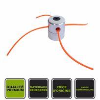 Silex - Tête à 4 fils universelle en alu 2.4mm ø ® pour débroussailleuse thermique