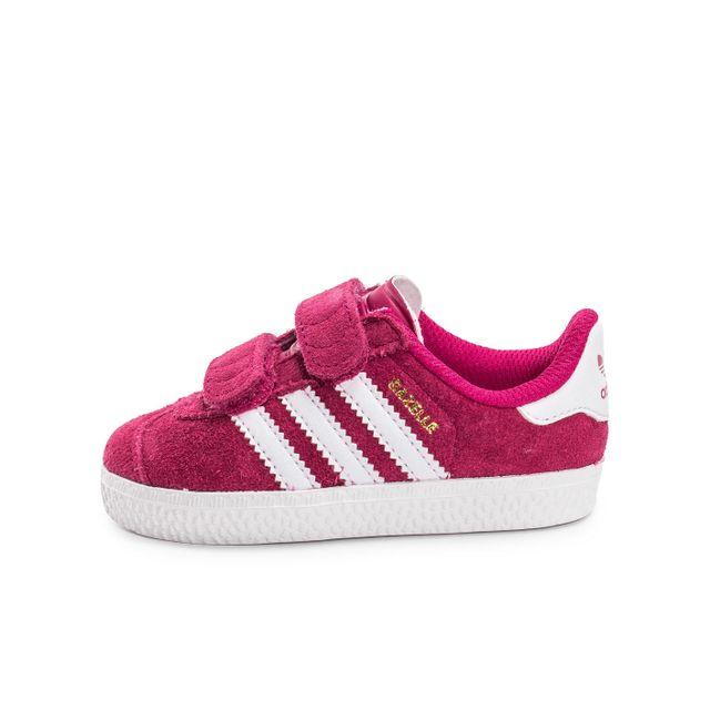 cc598539ba496 Adidas originals - Gazelle 2 Cf Bébé Rose - pas cher Achat   Vente ...