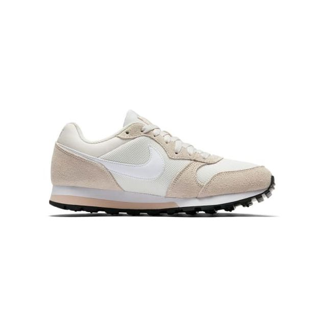 137aefa08f7 Nike - Chaussure Md Runner 2 beige blanc femme - pas cher Achat   Vente  Chaussures fitness - RueDuCommerce