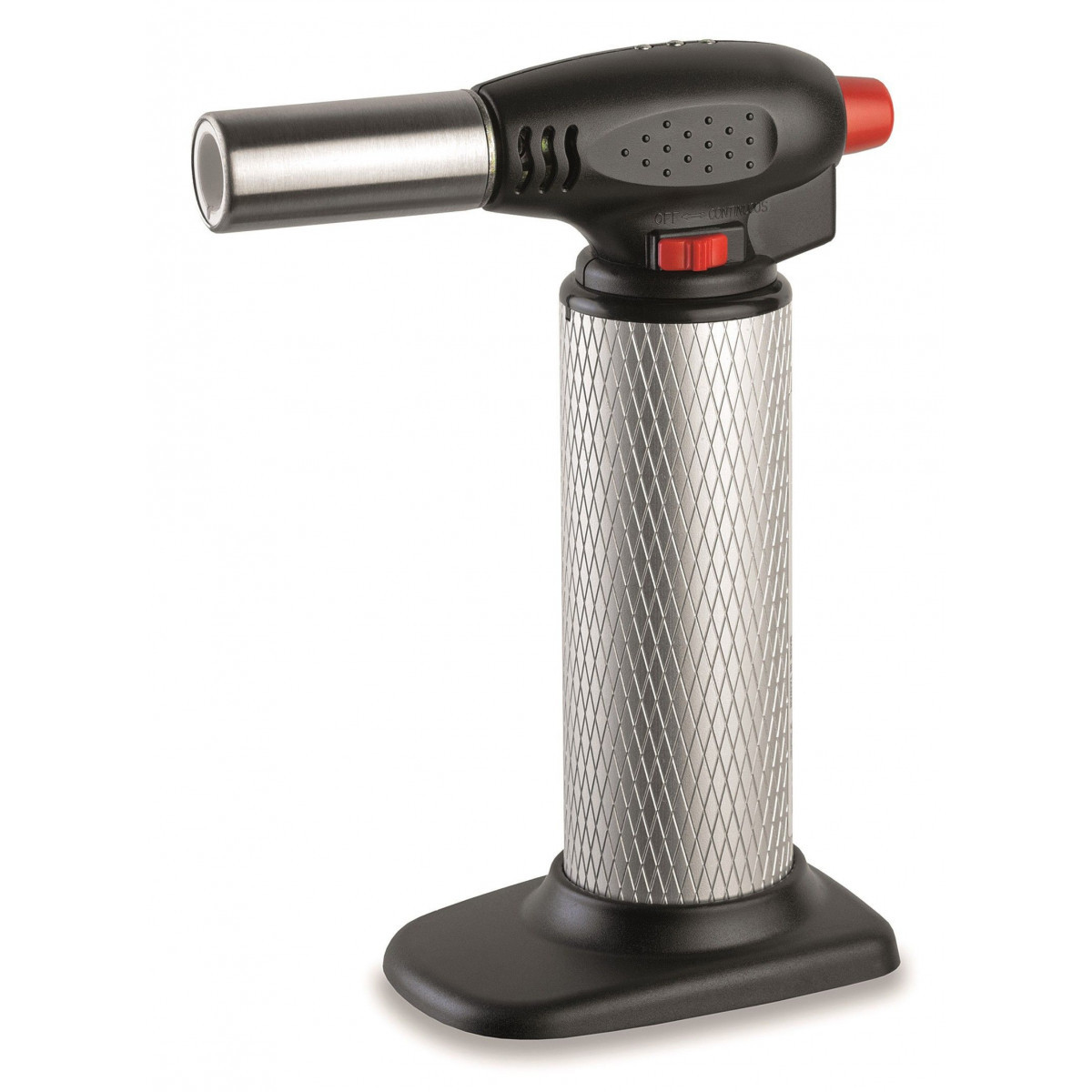 Chalumeau de cuisine à gaz + 2 recharges - micro torche - Piezo