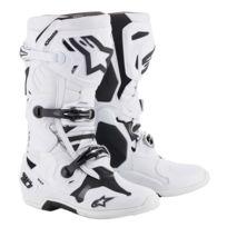 1b74b84d8 Bottes Moto Cross Tech 10 White-43