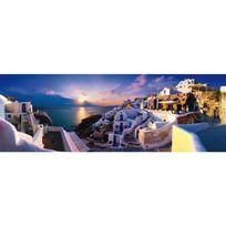 Schmidt - Puzzle 1000 pièces : Coucher de soleil à Santorin