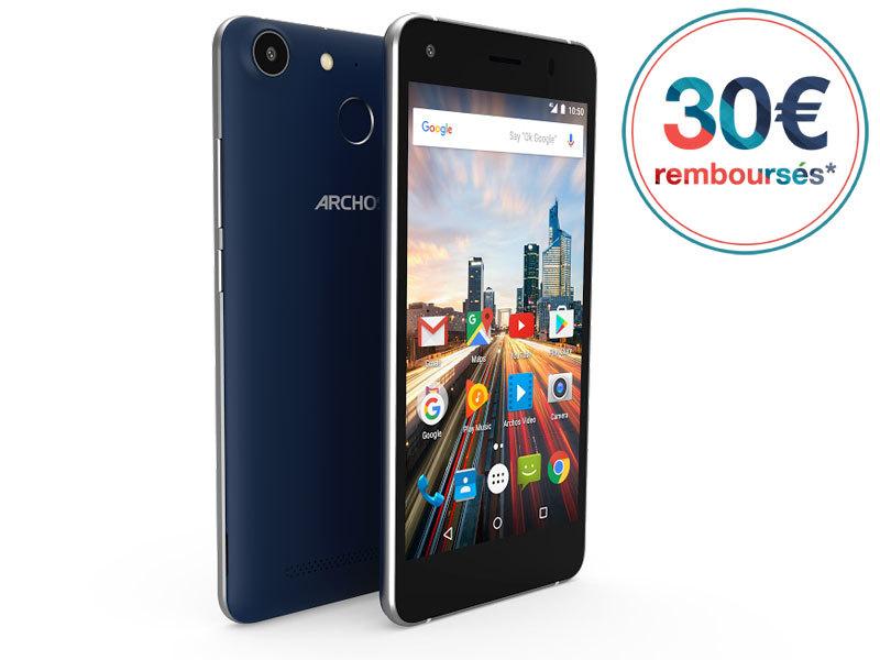 Smartphone 50 F Hélium - 32 Go - Bleu