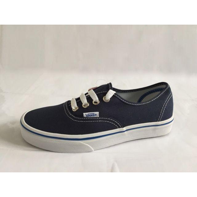 628c7f15fa6a76 Vans - classics authentic nautical blue - pas cher Achat   Vente ...
