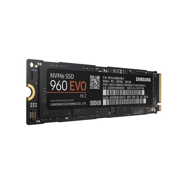 Samsung - SSD 960 EVO M.2 500 Go