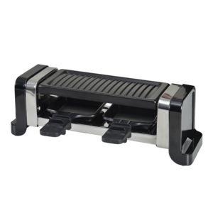 kitchen chef appareil raclette 2 personnes 450w pierre. Black Bedroom Furniture Sets. Home Design Ideas