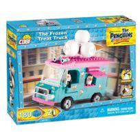 Cobi Klocki - Cobi-26172 Les Pingouins De Madagascar, The Frozen Treat Truck, 180 Cubes Co-26172