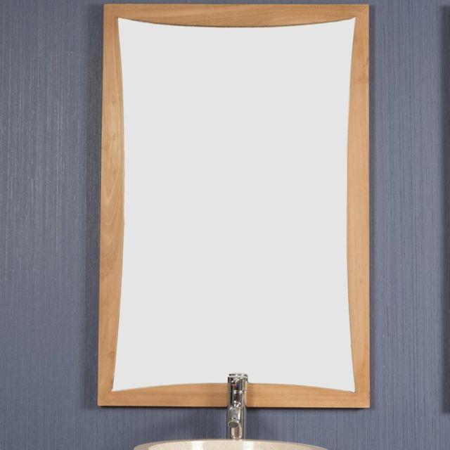Wanda Collection Miroir en teck Tango 60 X 90 cm