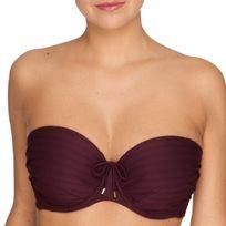 Primadonna Swim - Haut de maillot bandeau à armature Sherry tourmaline