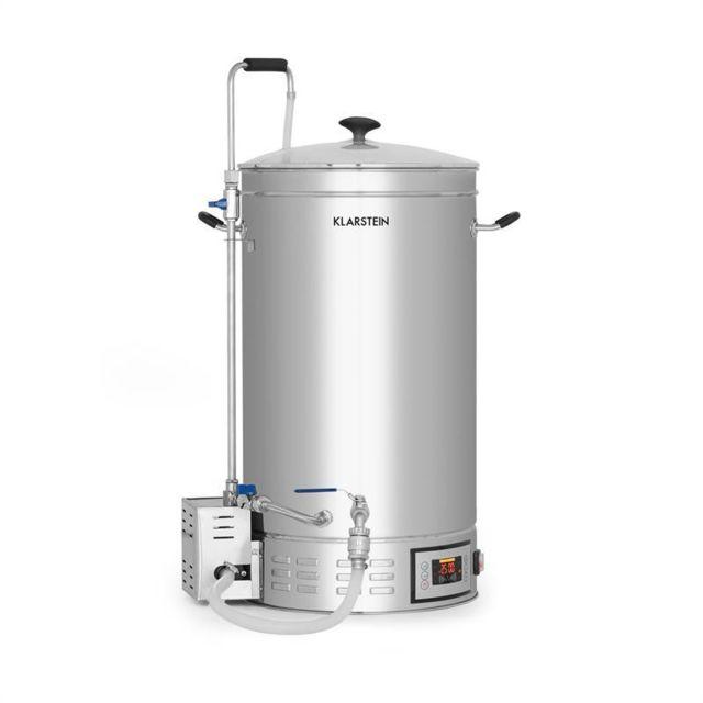 30-140 /°C oneConcept Hopfengott Cuve de brassage 30L pompe de circulation inox