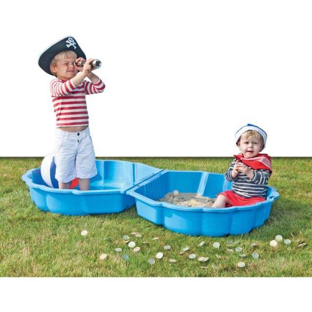 paradiso 2 coquilles bac sable piscine bleu pas cher. Black Bedroom Furniture Sets. Home Design Ideas