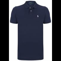 Ralph Lauren - Polo Bleu Navy Custom-fit