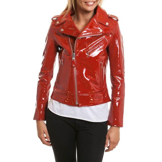 Acheter veste en cuir pour femme