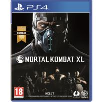WARNER - Jeu PS4 Mortal Kombat XL