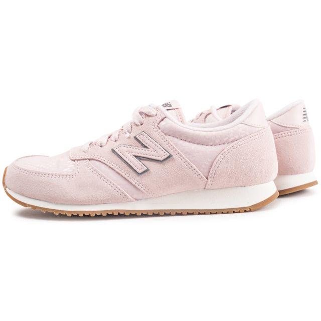 new balance femme 420 gris rose