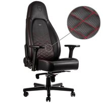 NOBLECHAIRS - ICON - Noir/Rouge