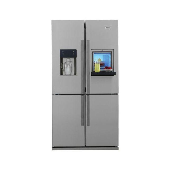 beko r frig rateur multi portes 522l gne134620x achat. Black Bedroom Furniture Sets. Home Design Ideas