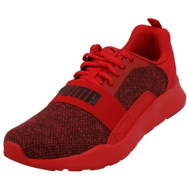 chaussures rouge puma