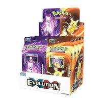 Pokemon Company International - Jeux de société - Pokemon Xy12 présentoir Theme Decks Evolution 8, ALLEMAND