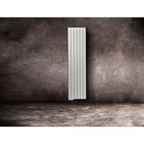 Lvi - Radiateur A Fluide Caloporteur Tamari V - Sens : Vertical - Dimensions : 1830 x 680 x 75 mm - Puissance : 1500 W - Couleur : Blanc