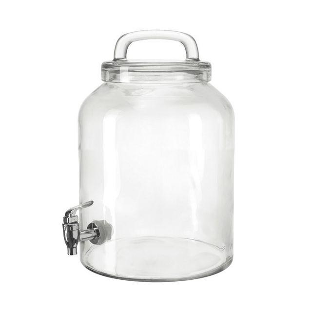 Montana Fontaine à boisson en verre avec robinet Enjoy - 6L