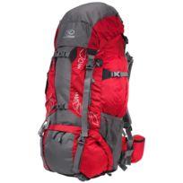 Highlander - Sac à dos randonnée Discovery 85 chili grey Rouge 41409