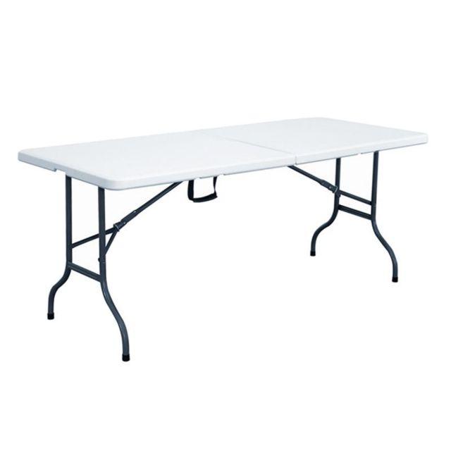 Table de Jardin en Plastique - Achat Table de Jardin en Plastique ...
