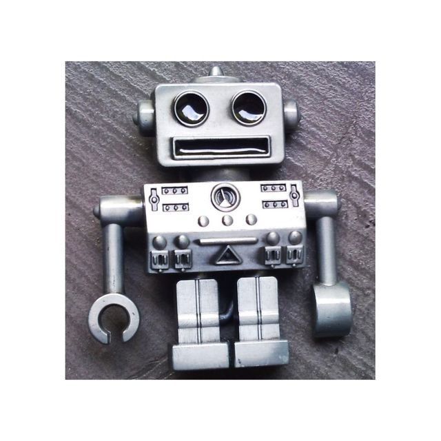 d220d8028646 Universel - Boucle de ceinture robot 3d rock roll homme femme enfant ...