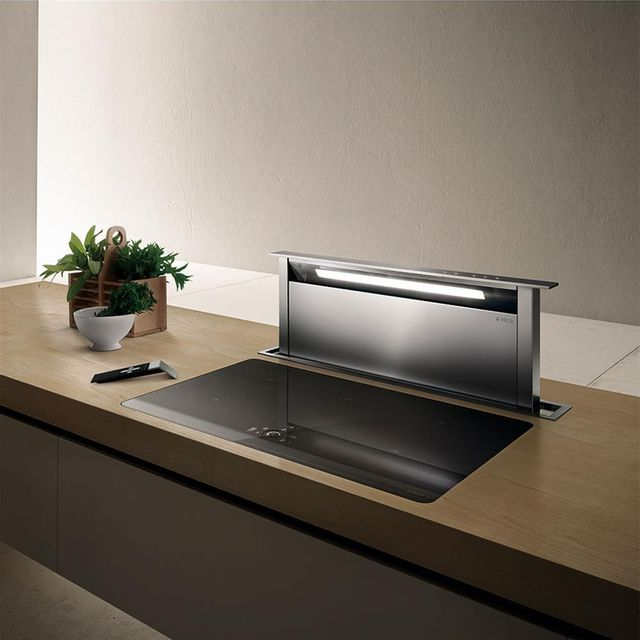 Elica hotte cuisine escamotable adagio 90 cm achat hotte d corative - Image hotte de cuisine ...
