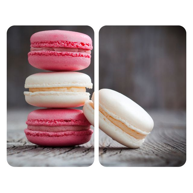 Wenko Set de 2 Protège-Plaques Universelles Macarons