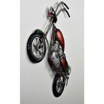 No Name - Décoration murale Harley Modele 2 - Métal - L 57 x H 48 cm