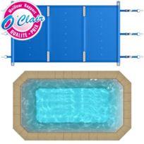 Piscine Center O'CLAIR - Bâche à barres Pool-Barres Plus rectangle pour piscine coque Piscine Provence Polyester Mini-Pool