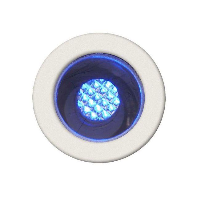 Brilliant Kit de 10 spots encastres Ip44 Cosa 15 10x0 07W Led intégrée Acier Bleu G03090_73