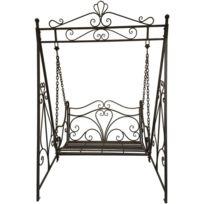 balancelle en fer forge achat balancelle en fer forge. Black Bedroom Furniture Sets. Home Design Ideas
