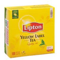 Lipton - Thé Yellow infusette - boîte de 100
