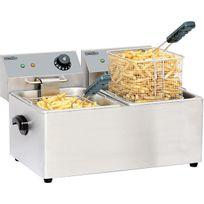 CASSELIN - friteuse électrique 2x4l 4000w - cfe42
