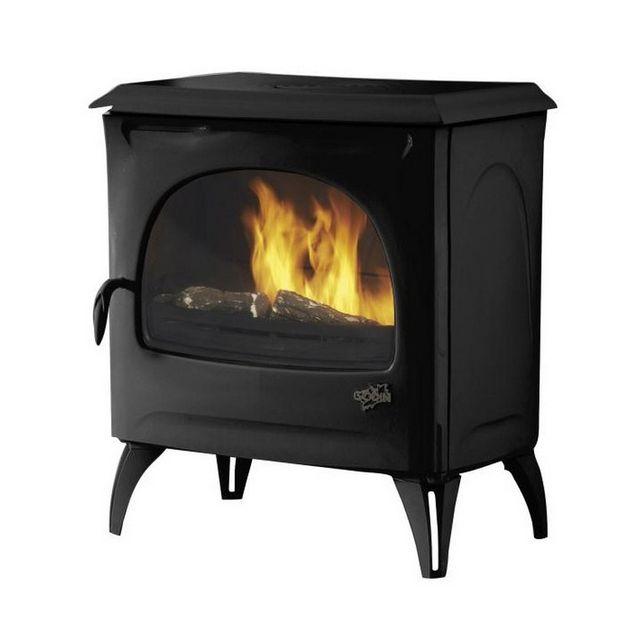 godin po le bois 7kw noir mat 388113a pas cher. Black Bedroom Furniture Sets. Home Design Ideas