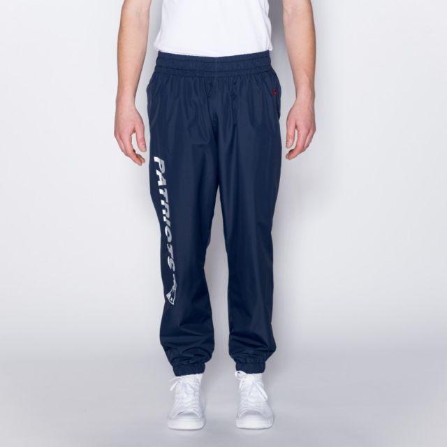 New Era Pantalon Nfl New England Patriots Wordmark Jogger Bleu Navy pour homme Taille - L