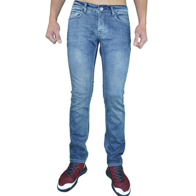 805a18460a676 Armani - Emporio - Jean - Homme - Ea Denim 01 Slim Fit - Stone Délavé - pas  cher Achat   Vente Jeans homme - RueDuCommerce