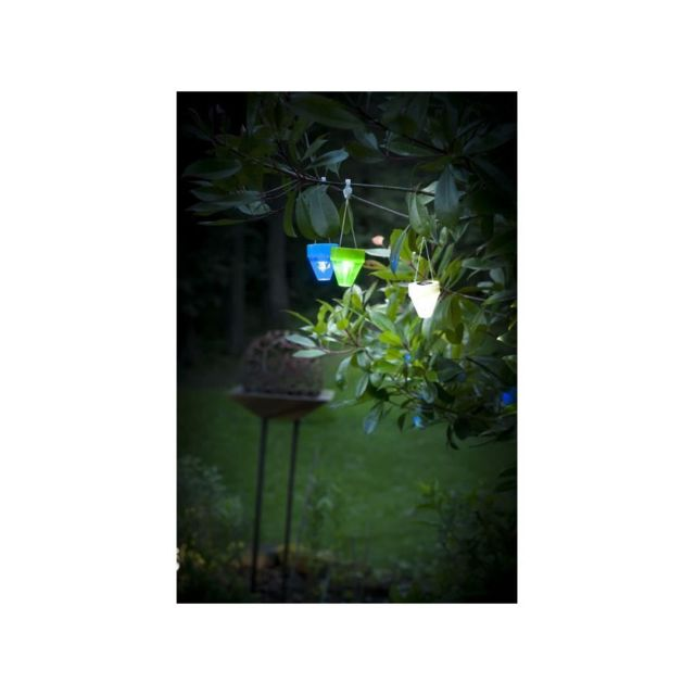 8f2ccd4fca Galix - Lampion solaire - Plastique blanc - pas cher Achat / Vente Eclairage  solaire - RueDuCommerce