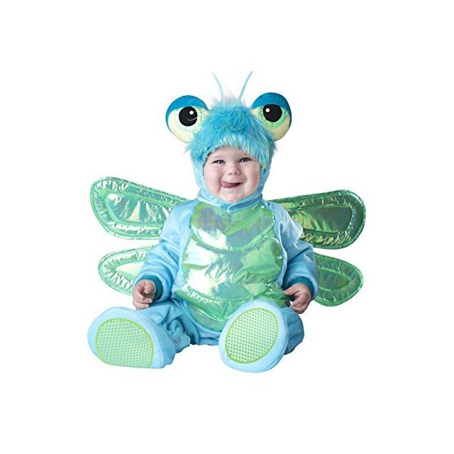 Fun World InCharacter Costumes Babys Dinky Dragonfly Costume Green/Turquoise Small